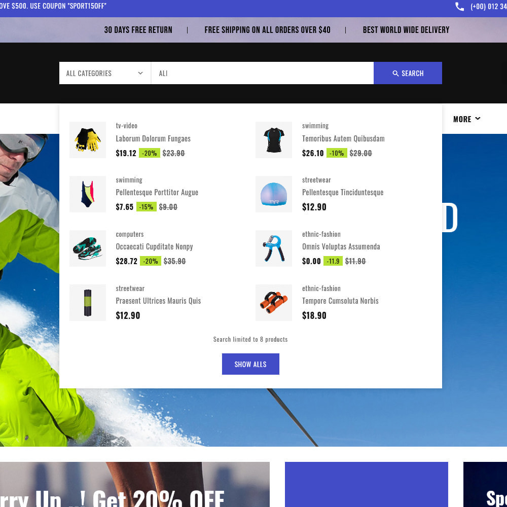 theme - Sports, Activities & Travel - Sports - Travel Store - 13