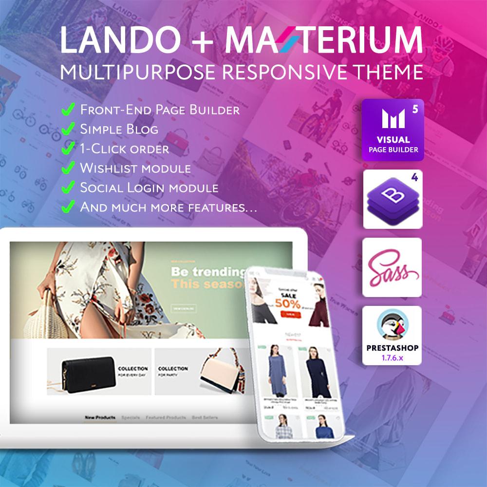theme - Fashion & Shoes - Lando - Modern Multipurpose Online Store - 1