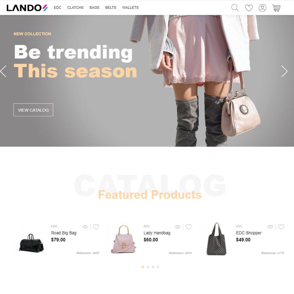 theme - Fashion & Shoes - Lando - Modern Multipurpose Online Store - 2