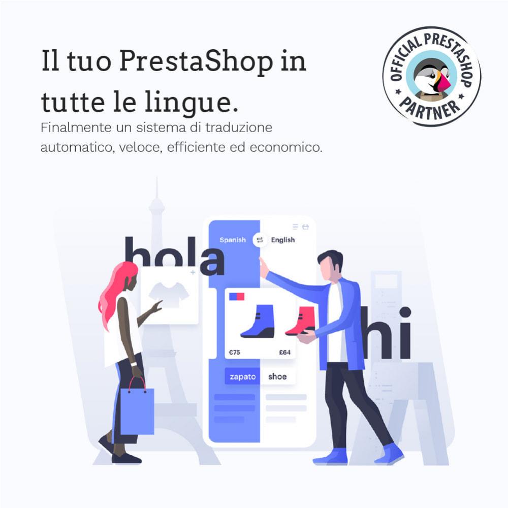 module - Lingue & Traduzioni - Glotio - Traduci il tuo PrestaShop in oltre 50 lingue - 2