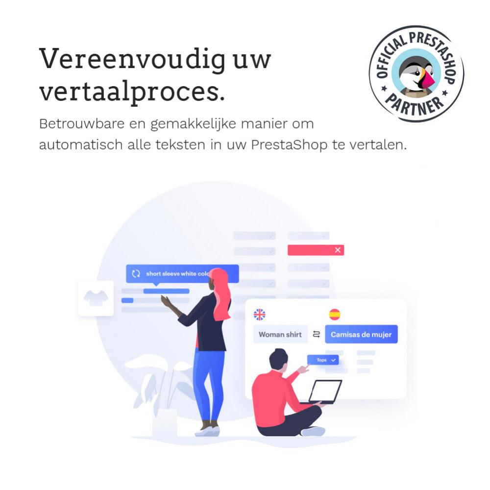 module - Internationaal & Lokalisatie - Glotio - Vertaal uw PrestaShop in meer dan 50 talen - 3
