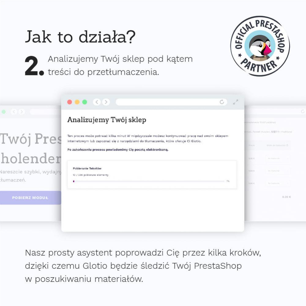 module - Międzynarodowość & Lokalizacja - Glotio-Przetłumacz swój PrestaShop na ponad 50 języków - 5