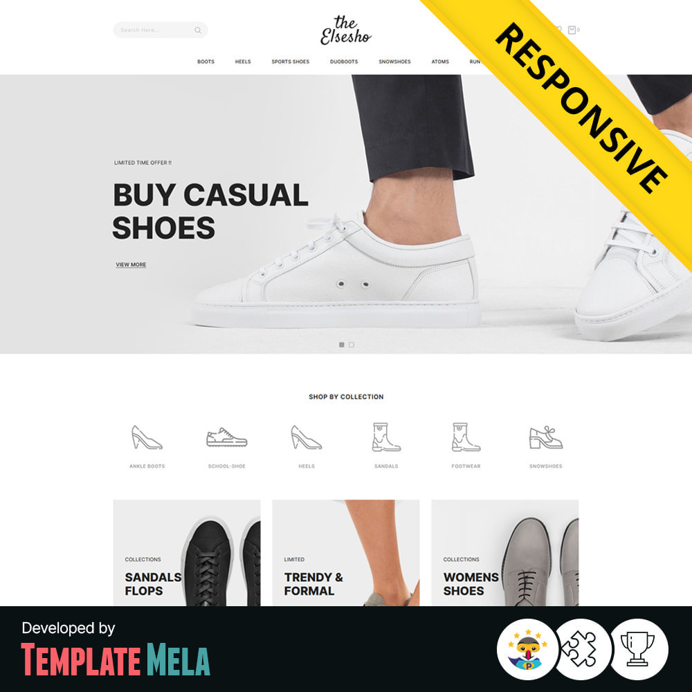 theme - Mode & Chaussures - Elsesho - Fashion & Shoes Store - 1