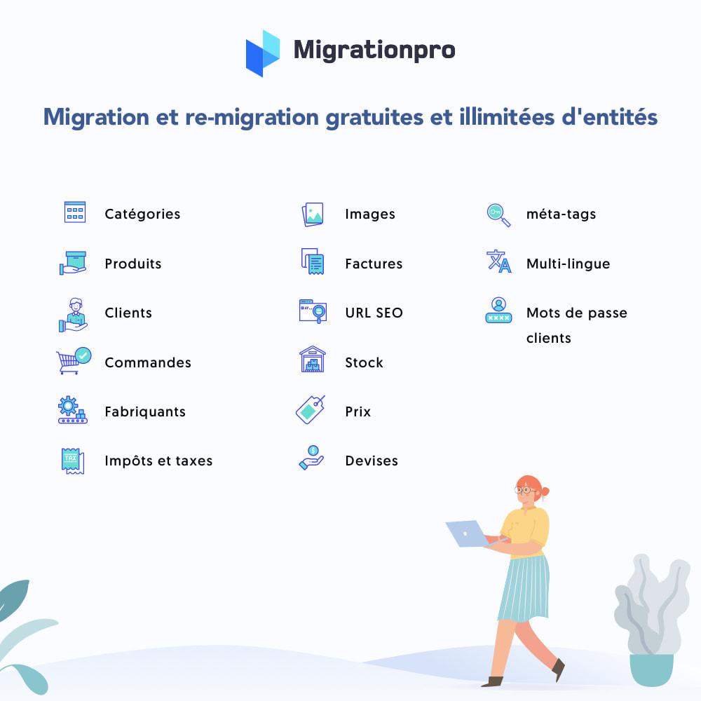 module - Migration de Données & Sauvegarde - Outil de migration WooCommerce vers PrestaShop - 2