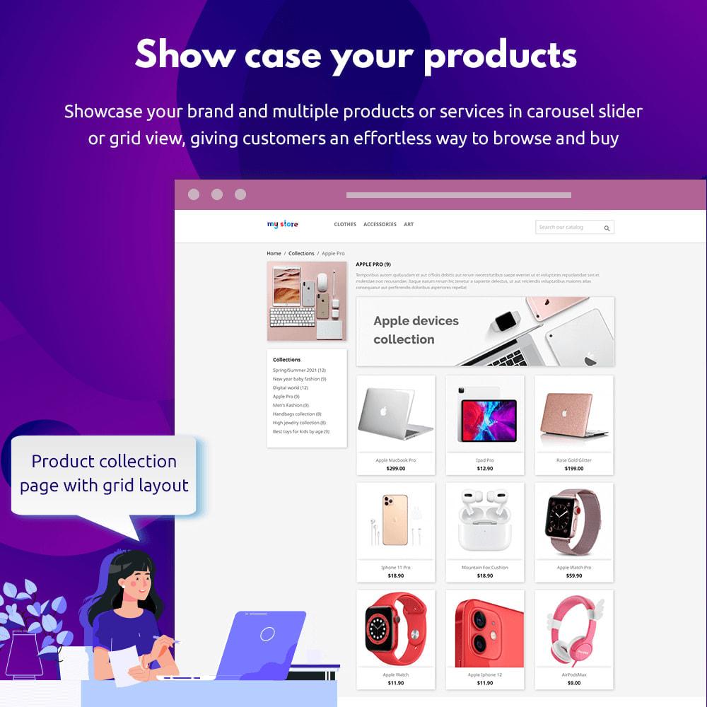 module - Visual dos produtos - Product Collections - 2
