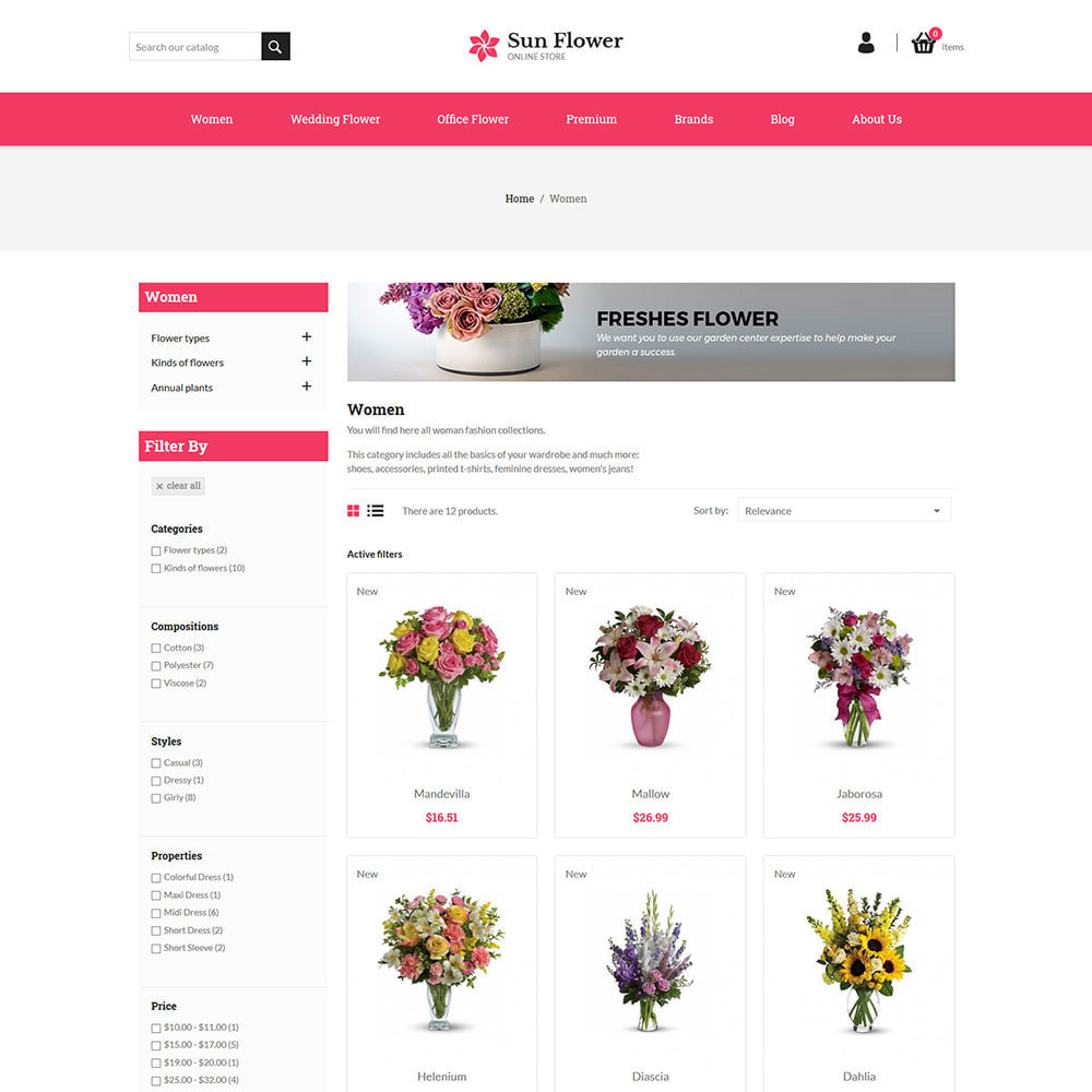 theme - Prezenty, Kwiaty & Uroczystości - Prezent z kwiatów - sklep z czekoladą na uroczystości - 5
