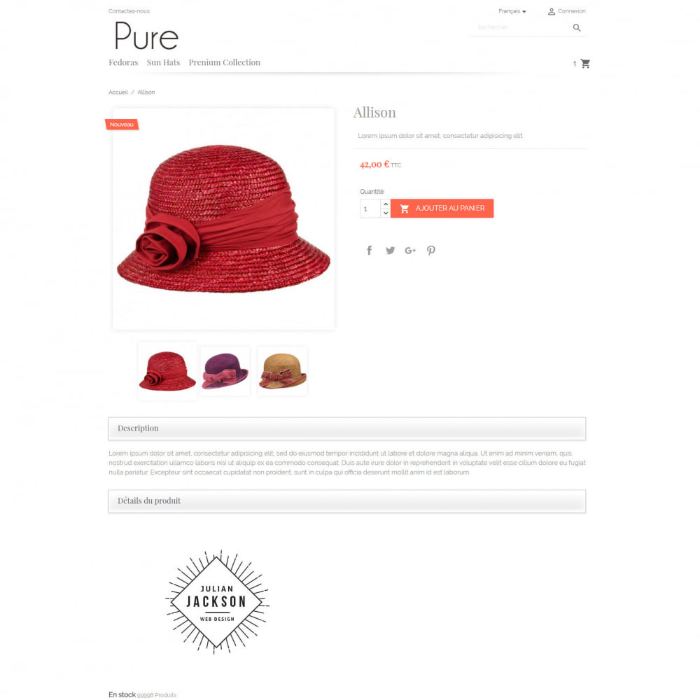 theme - Mode & Chaussures - Pure - 4