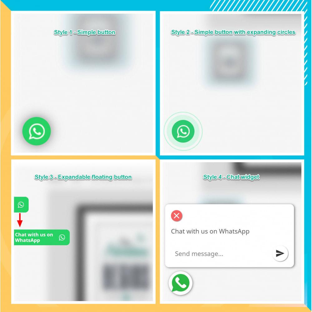 module - Support & Chat Online - Intégration WhatsApp PRO - Commande rapide, chat,agents - 15