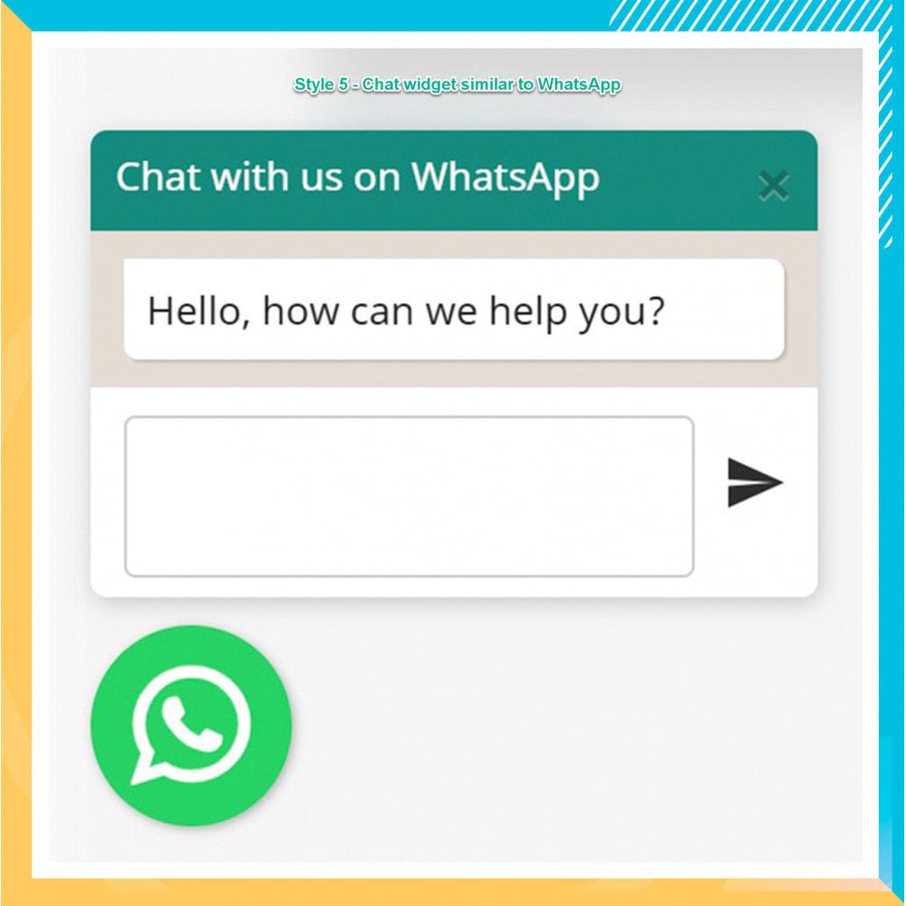 module - Supporto & Chat online - WhatsApp Integration PRO - Ordine, chat, agenti - 16