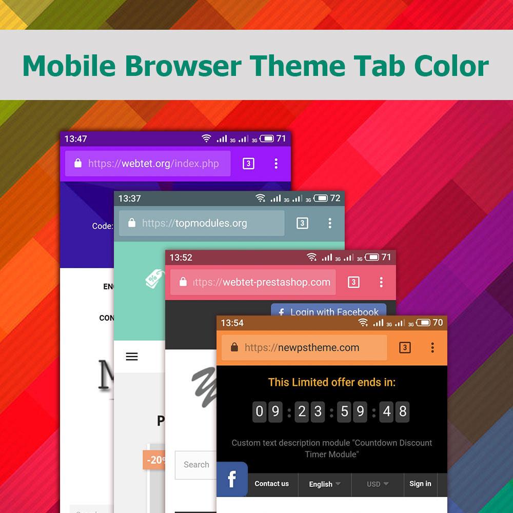 module - Mobile - Mobile Browser Theme Tab Color - 2