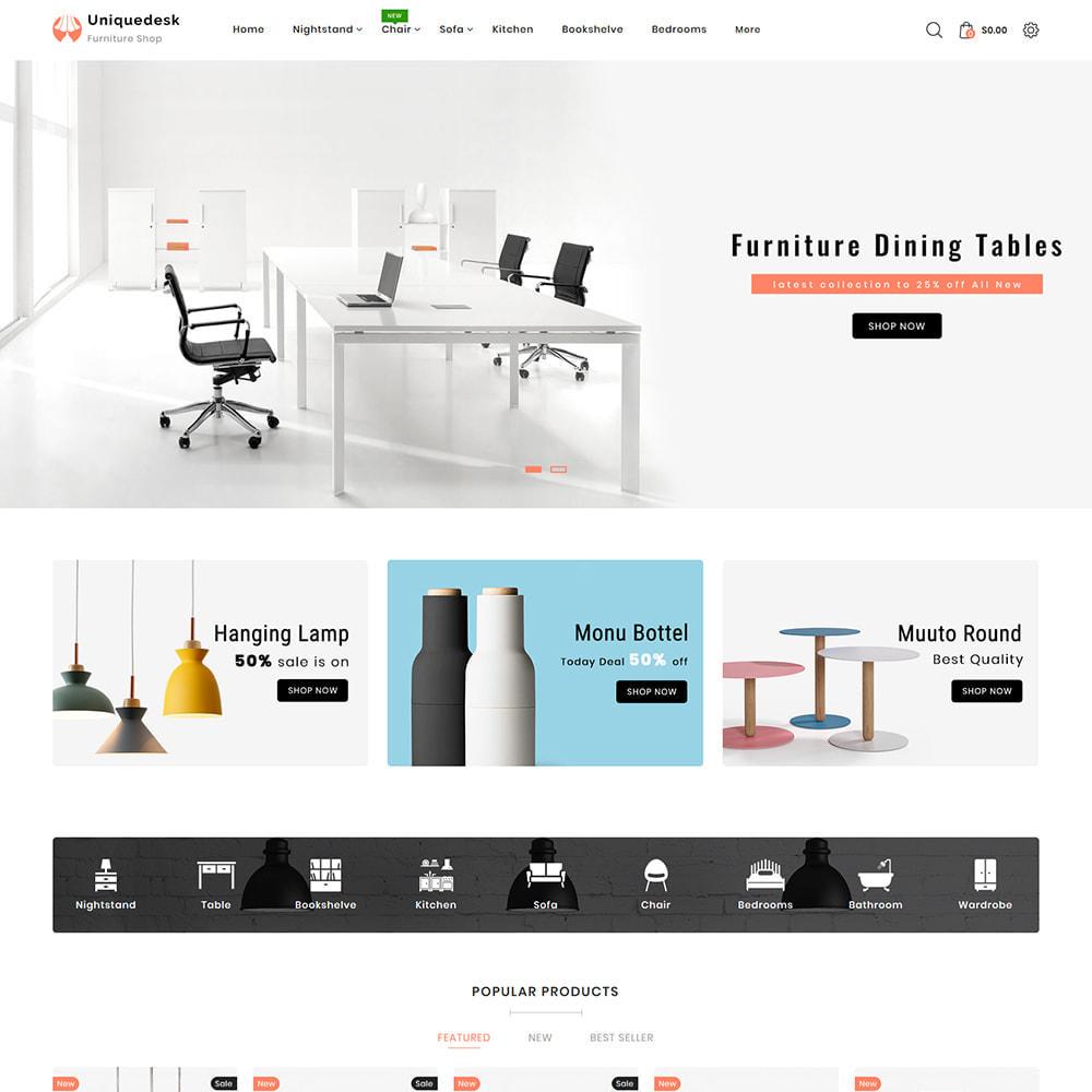 theme - Casa & Jardins - Uniquedesk - Modern Furniture Store - 2