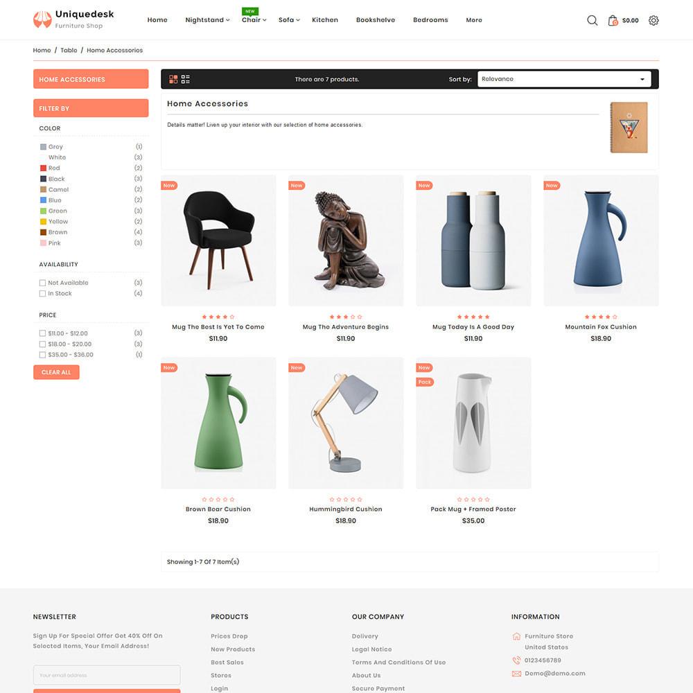 theme - Casa & Jardins - Uniquedesk - Modern Furniture Store - 3