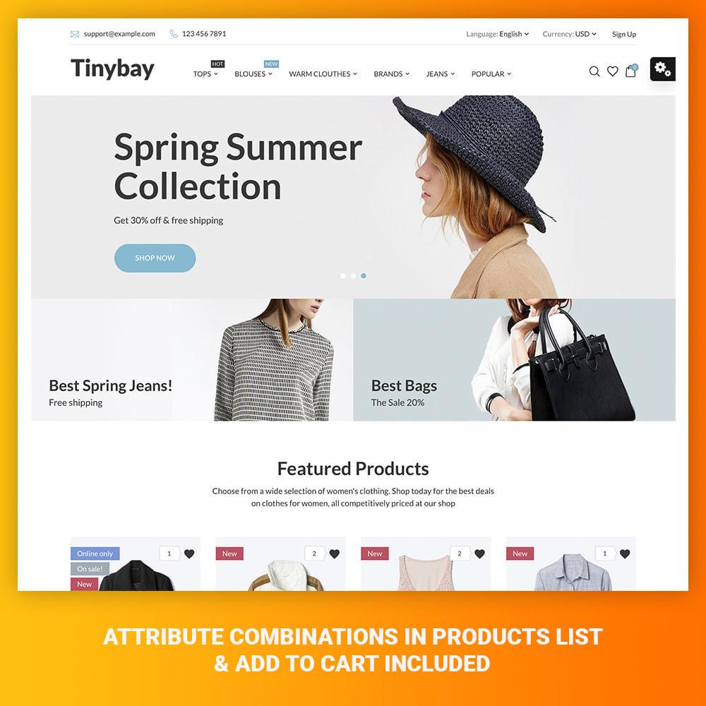 theme - Mode & Chaussures - Tinybay Fashion Store - 1