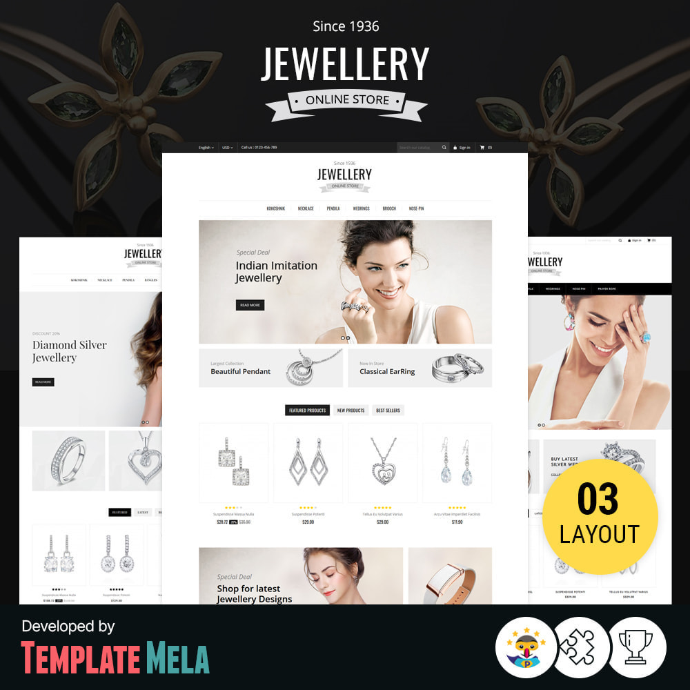theme - Bijoux & Accessoires - Jewelry & Accessories Store - 1