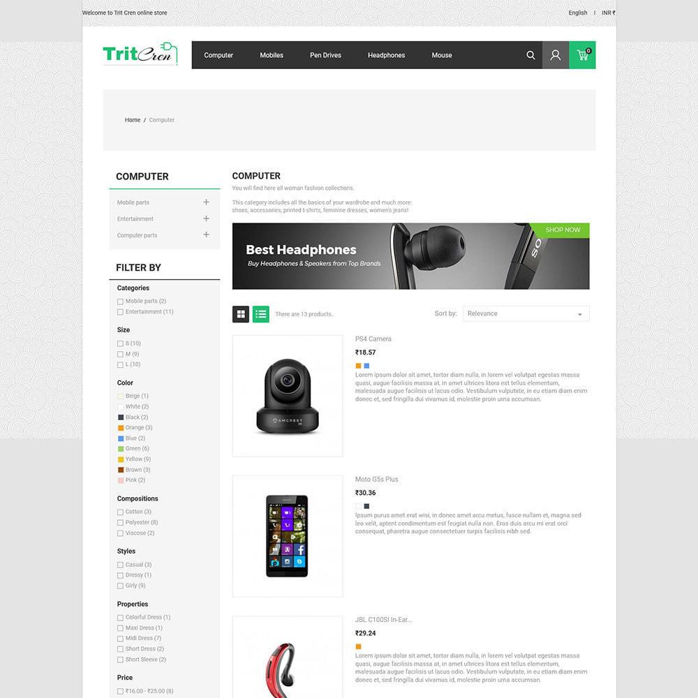 theme - Electrónica e High Tech - Computadora Portátil Electrónica - Tienda - 6