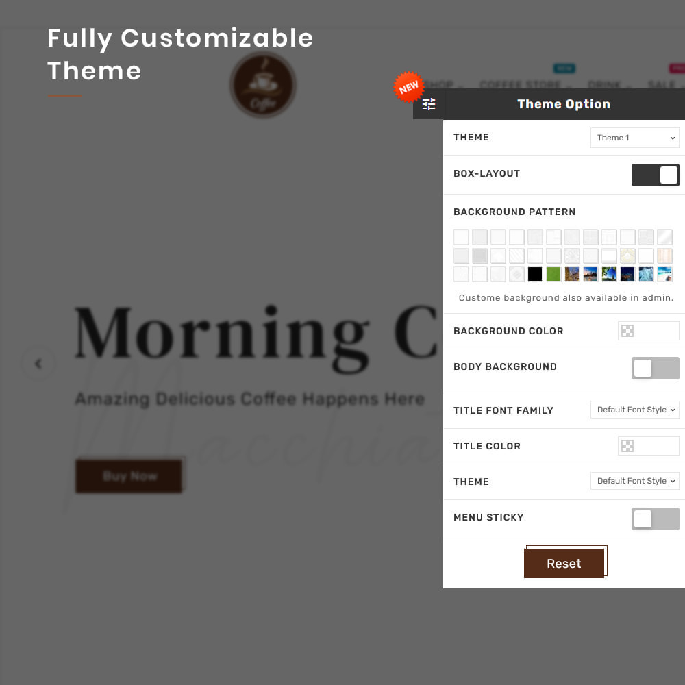 theme - Alimentation & Restauration - Coffee VIP Mega Coffee–Tea Nature–Beans Minimal Store - 13