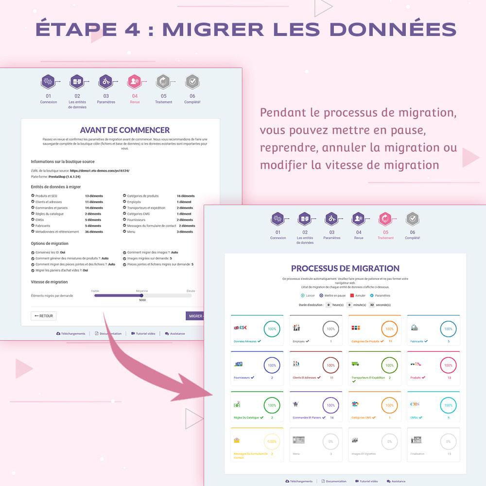 module - Migration de Données & Sauvegarde - PrestaShop Migrator - mettre à jour PrestaShop vers 1.7 - 11