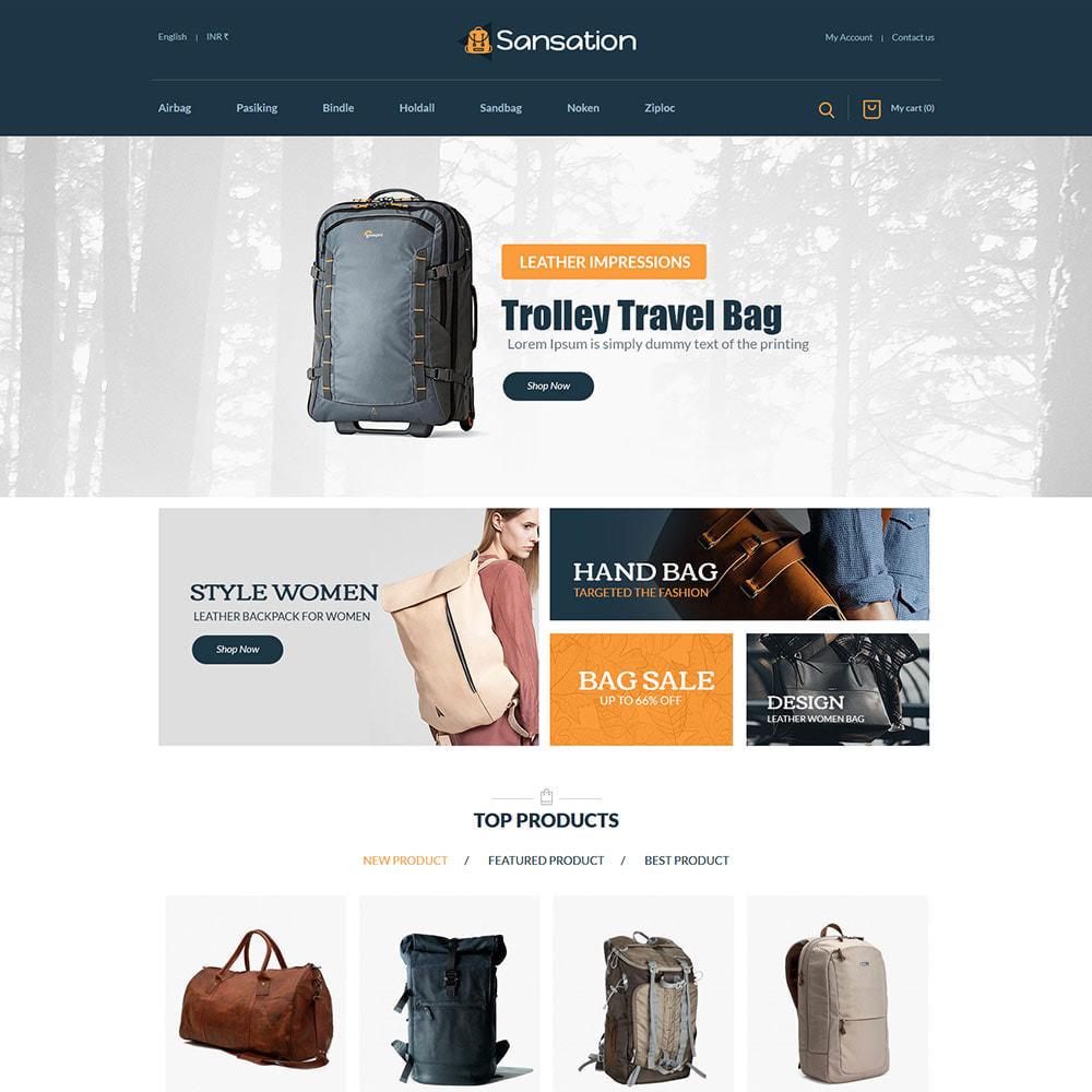 theme - Moda y Calzado - Sansation Bag - Tienda de moda de bolsos de cuero - 3