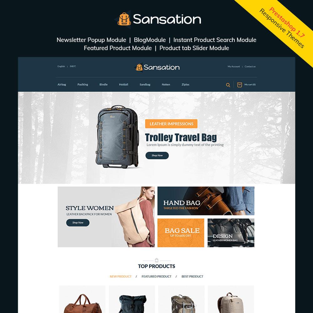 theme - Mode & Schuhe - Sansation Bag - Handtasche Leder Modegeschäft - 2