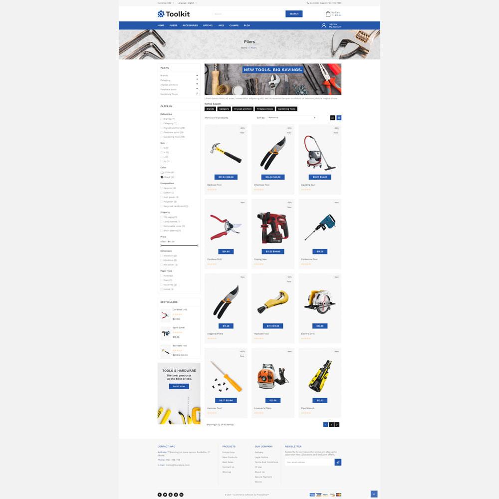 theme - Automotive & Cars - Toolkit Store - 3