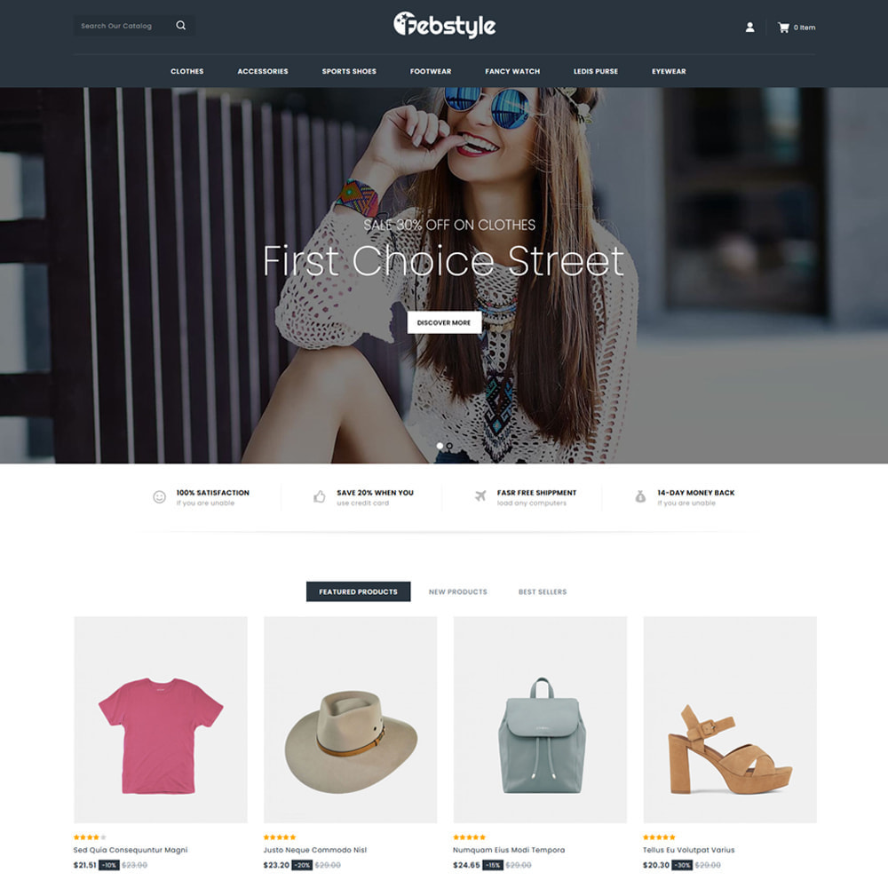 theme - Mode & Schoenen - Febstyle - Fashion Accessories Shop - 2