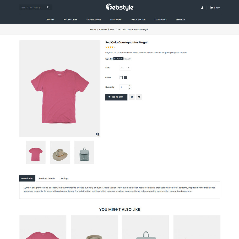 theme - Mode & Schoenen - Febstyle - Fashion Accessories Shop - 4