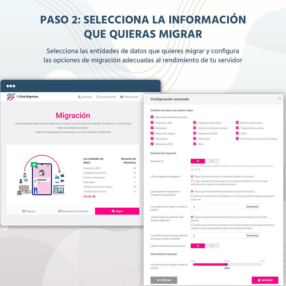 module - Migración y Copias de seguridad - 1 CLIC para Migrar o Actualizar - 9