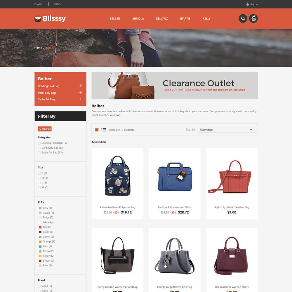 theme - Mode & Chaussures - Blissy Bag - Magasin d'accessoires pour sacs à main - 5