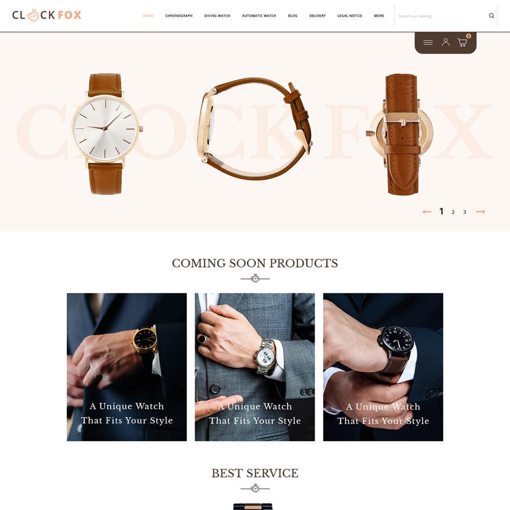 theme - Joalheria & Acessórios - Clockfox - Watch Store - 2