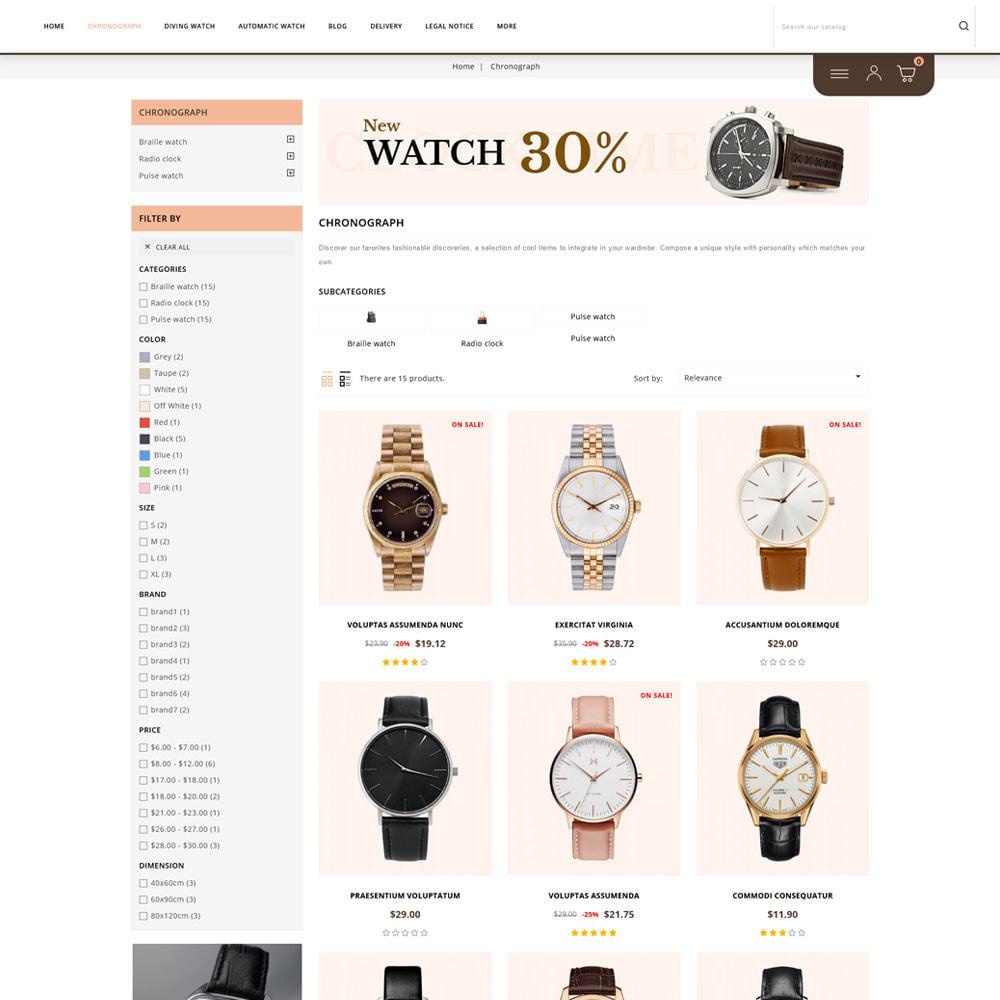 theme - Joalheria & Acessórios - Clockfox - Watch Store - 3