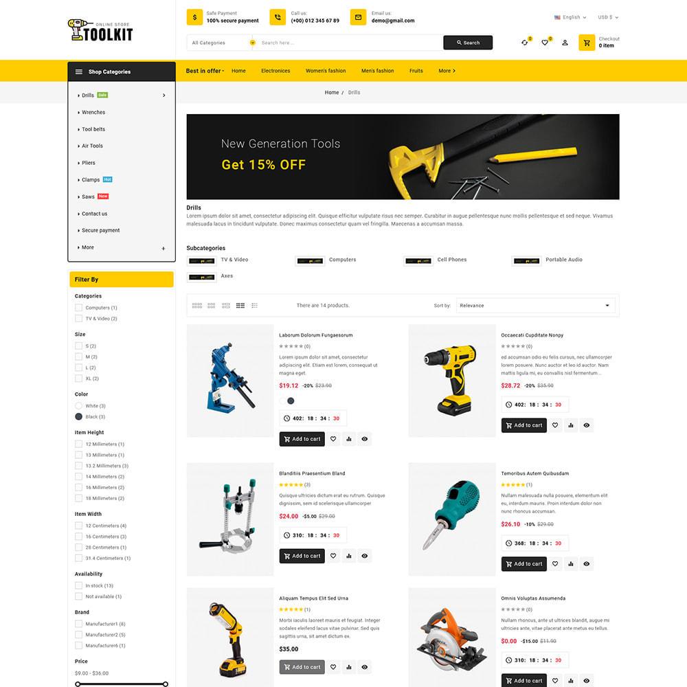 theme - Electronics & Computers - Toolkit - Mega Tools Store - 6
