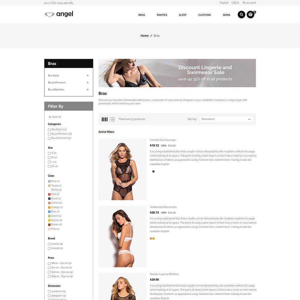 theme - Lingerie & Adulti - Lingerie per adulti - Negozio di attrazioni per bikini - 4