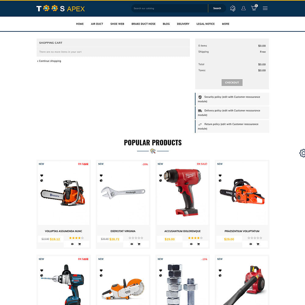theme - Automotive & Cars - Toolsapex - Tools Store - 6