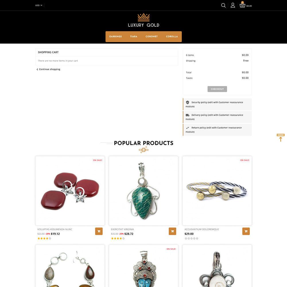 theme - Schmuck & Accesoires - Luxury gold - Jewellery Store - 8