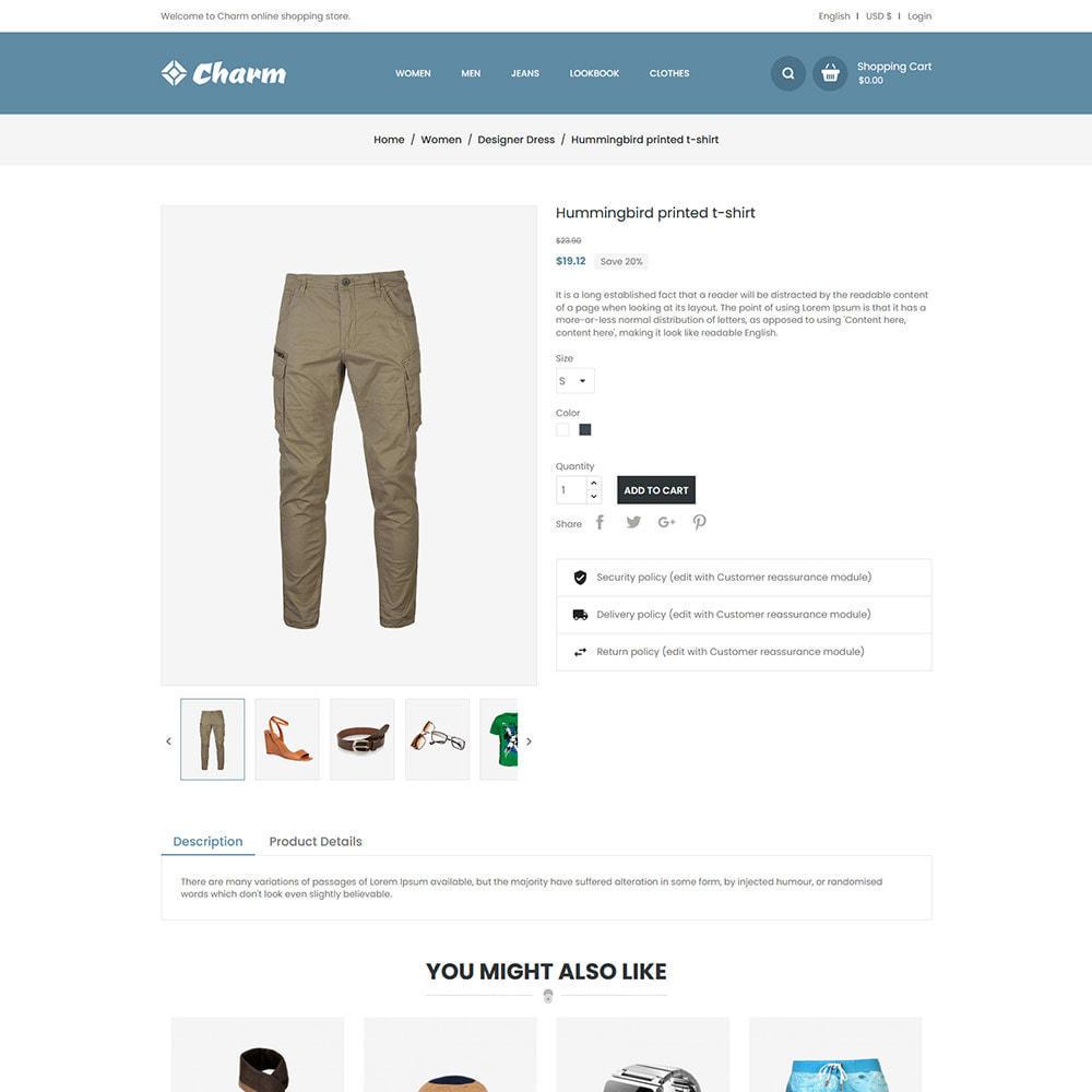 theme - Mode & Chaussures - Charm Fashion - Boutique de créateurs de vêtements - 6