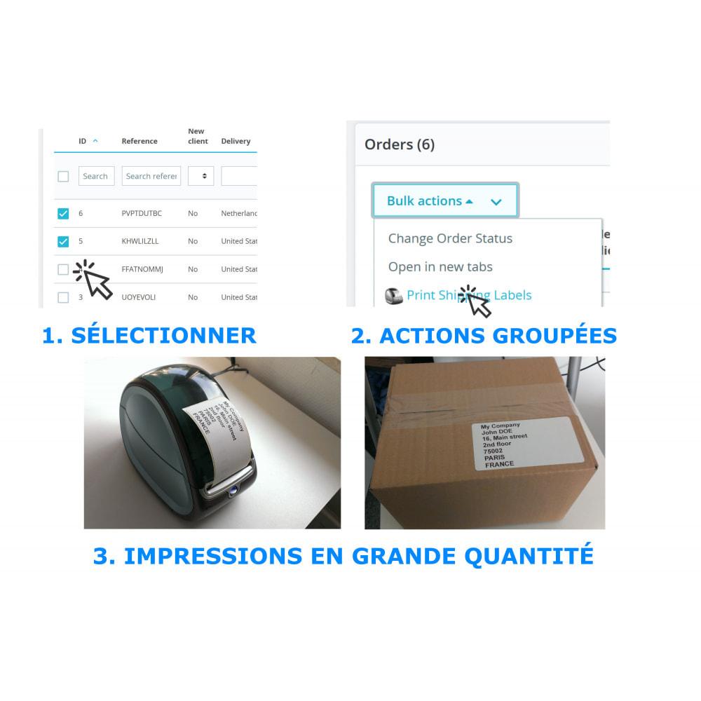 module - Préparation & Expédition - Étiquettes d'adresse/de commande - Direct Label Print - 2