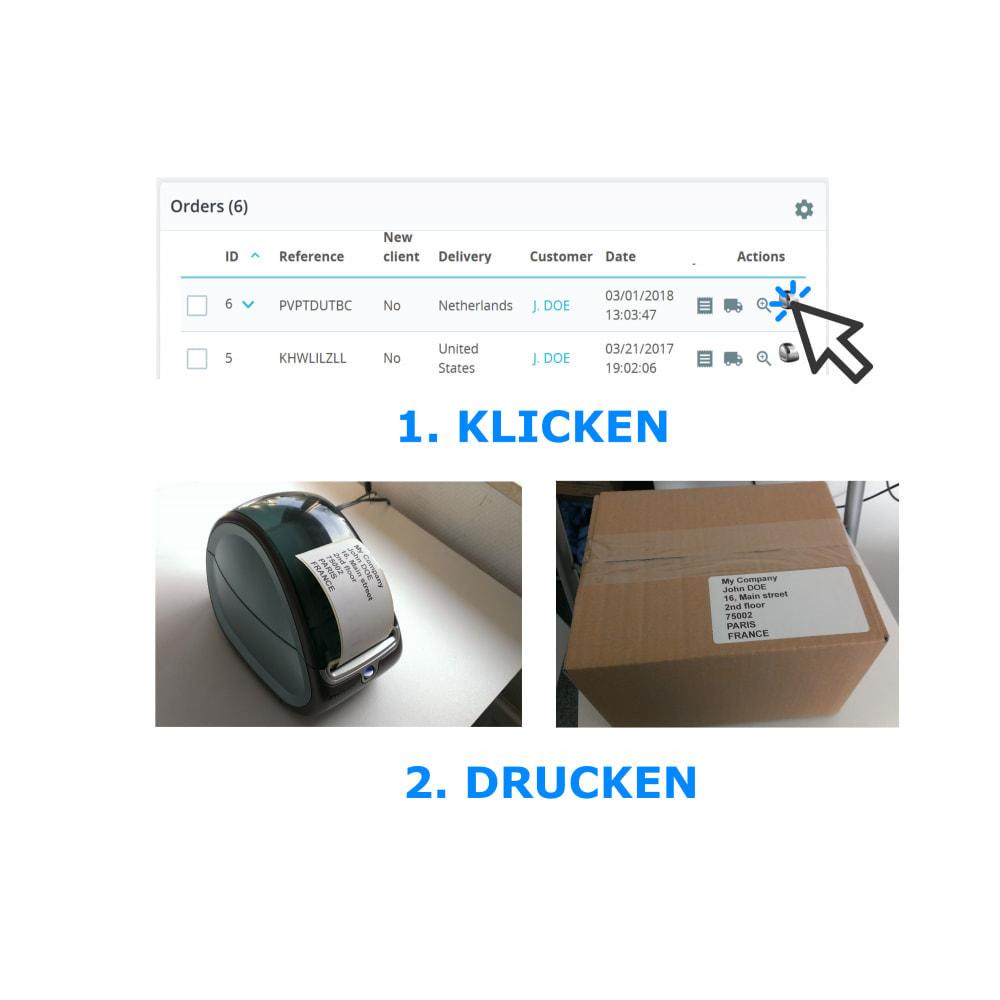 module - Kommissionierung & Versand - Adress- / Bestelletiketten - Direct Label Print - 1