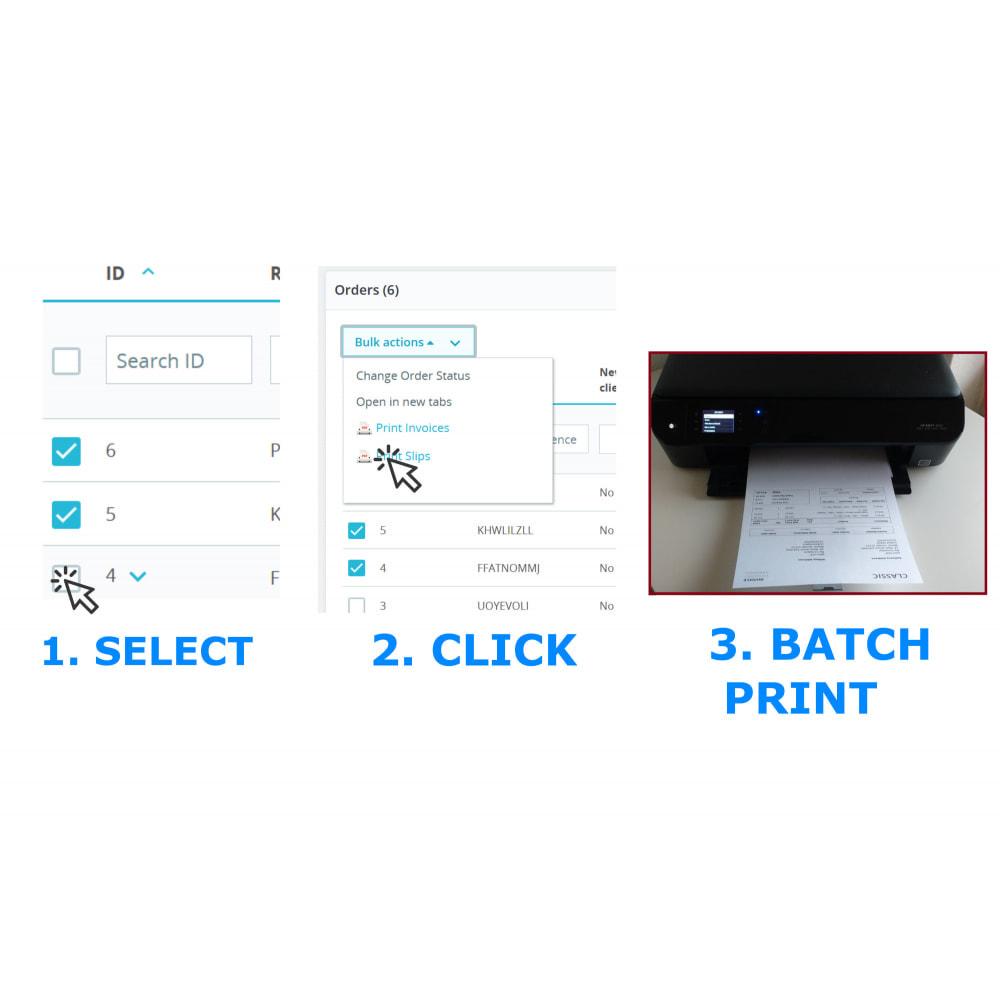 module - Бухгалтерии и выставления счетов - Easy & Mass Printing - Invoice & Slips - DirectPDFPrint - 2