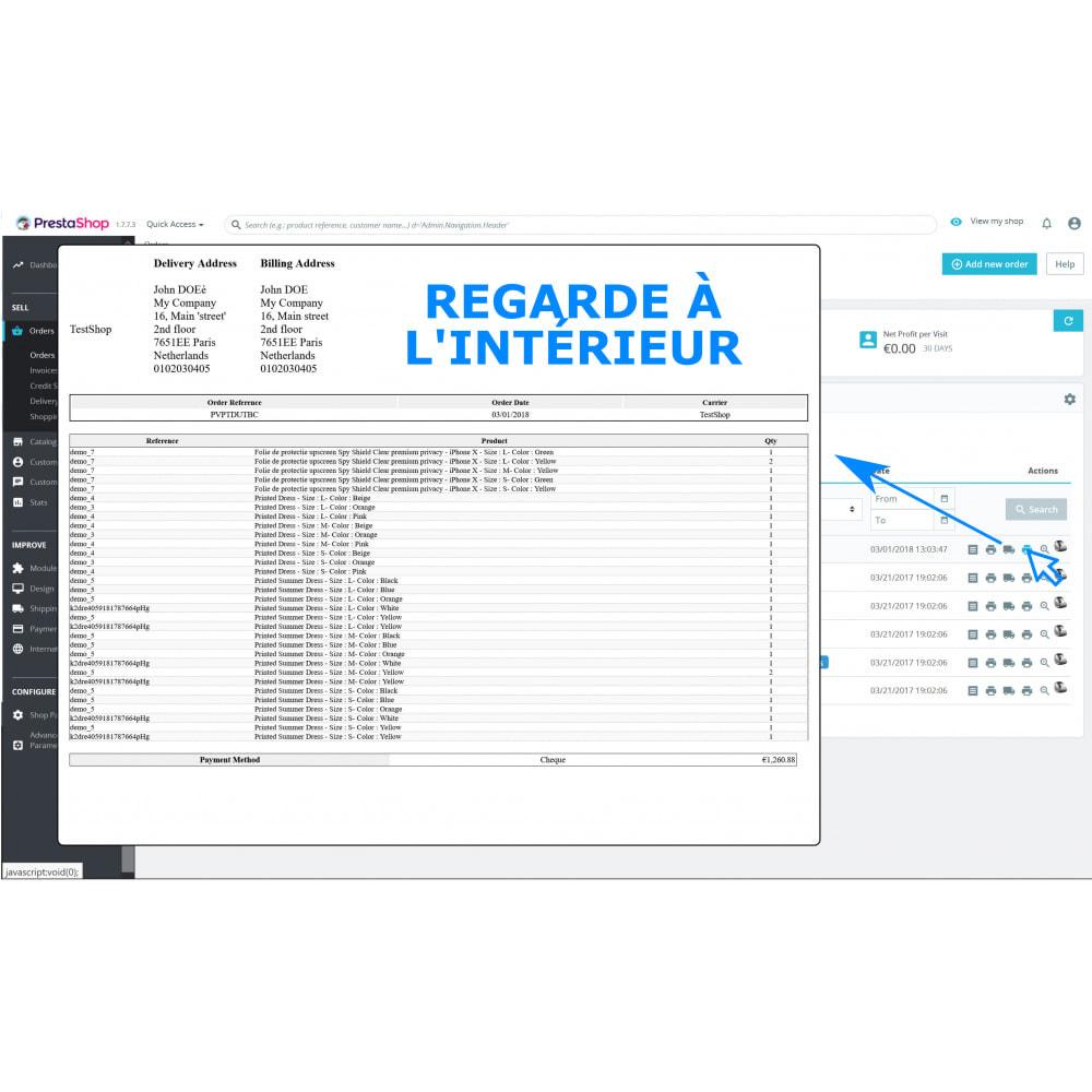 module - Comptabilité & Facturation - Impression masse & rapide – facture & bordereaux - DPP - 3