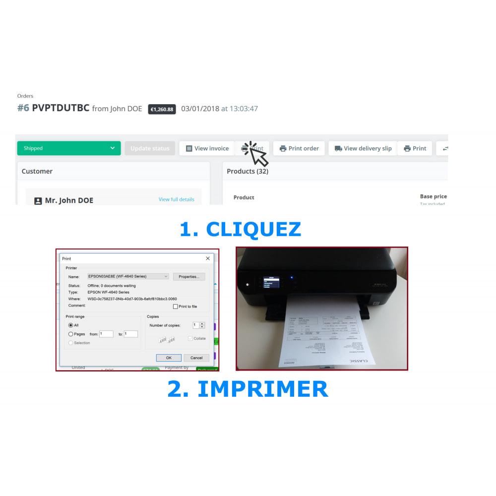 module - Comptabilité & Facturation - Impression masse & rapide – facture & bordereaux - DPP - 4