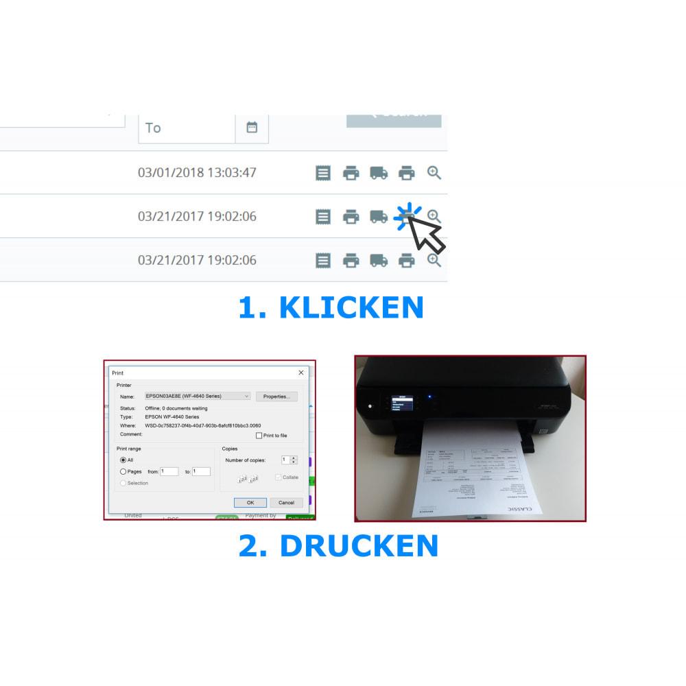 module - Buchhaltung & Rechnung - Schnell- & Seriendruck – Rechnungen & Scheine– DPP - 1