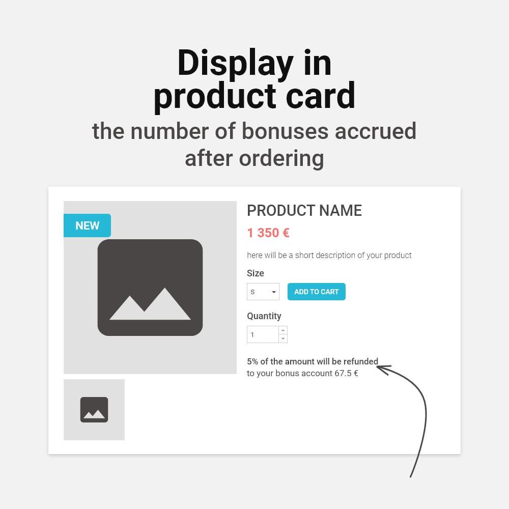 module - Empfehlungs- & Kundenbindungsprogramme - Bonus cashback sustem - 3