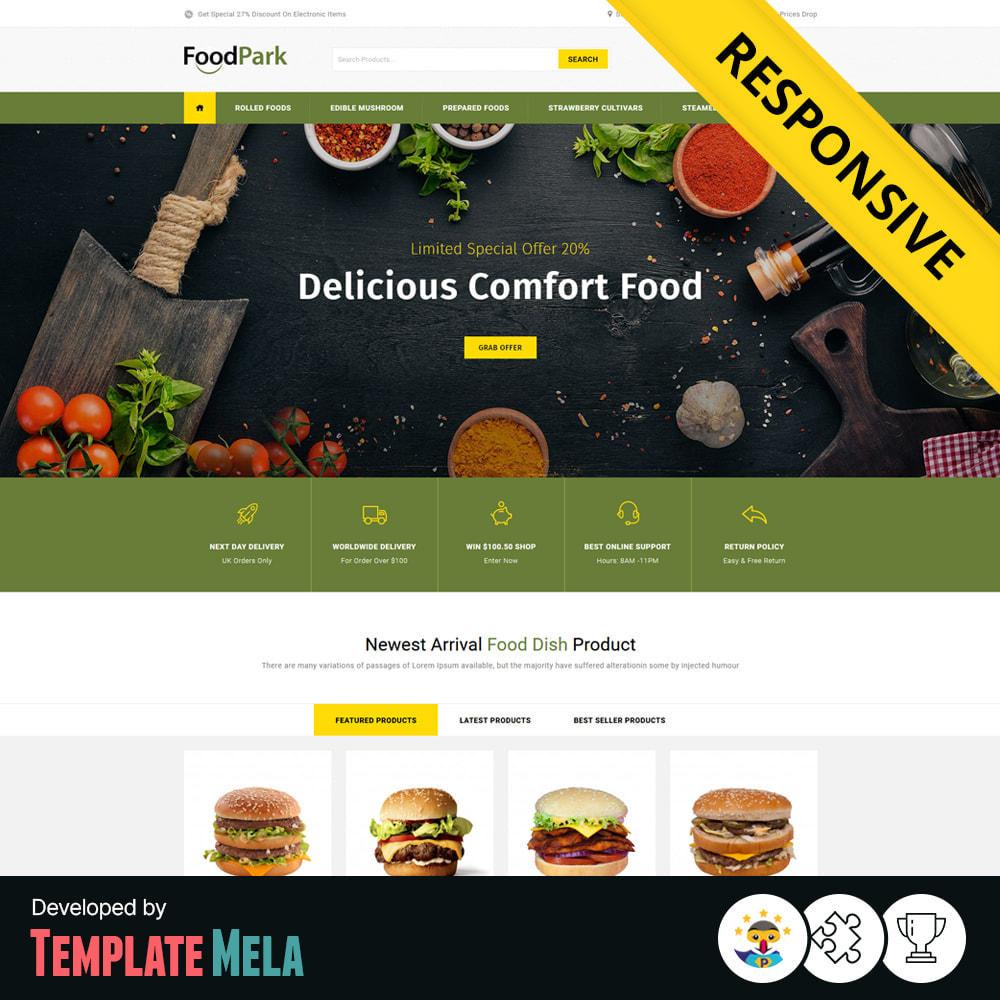 theme - Eten & Restaurant - Food Park - Food & Restaurant Store - 1