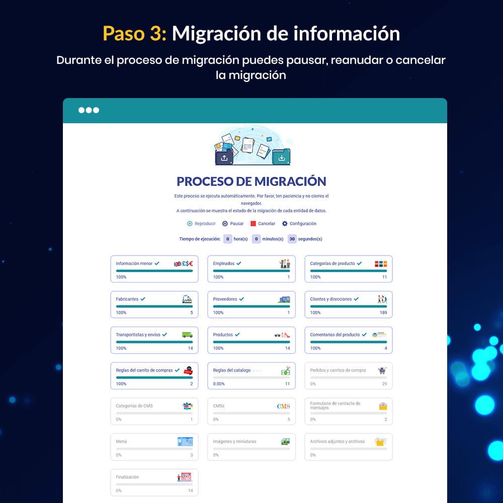 module - Migración y Copias de seguridad - MIGRATION 4.0–Herramienta de Actualización y Migración - 12