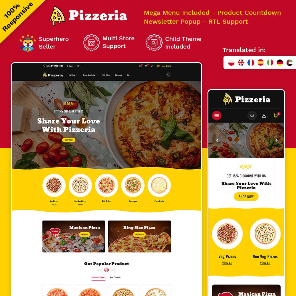 theme - Cibo & Ristorazione - Pizzeria - Pizza Fast Food Restaurant - 1