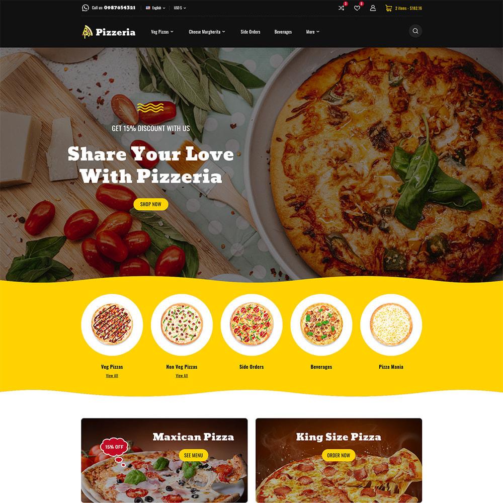 theme - Cibo & Ristorazione - Pizzeria - Pizza Fast Food Restaurant - 2