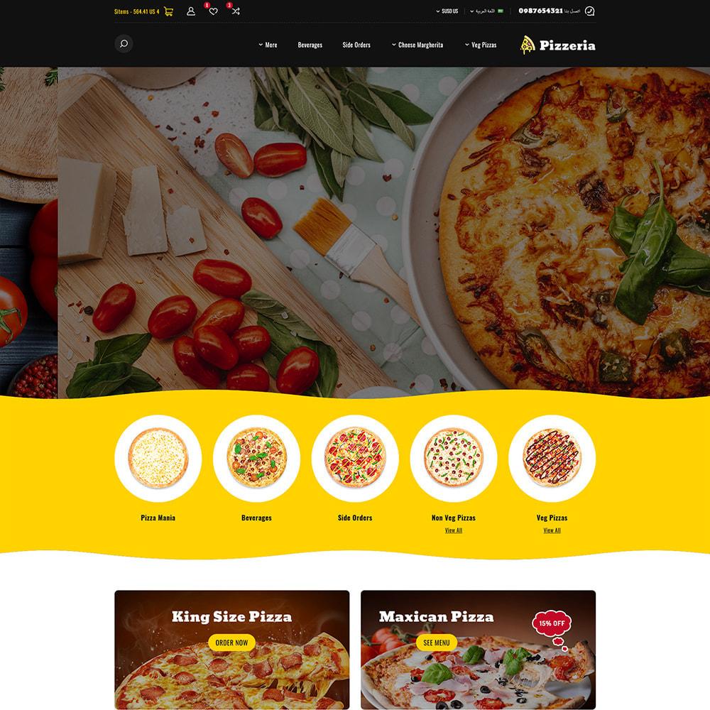 theme - Cibo & Ristorazione - Pizzeria - Pizza Fast Food Restaurant - 3