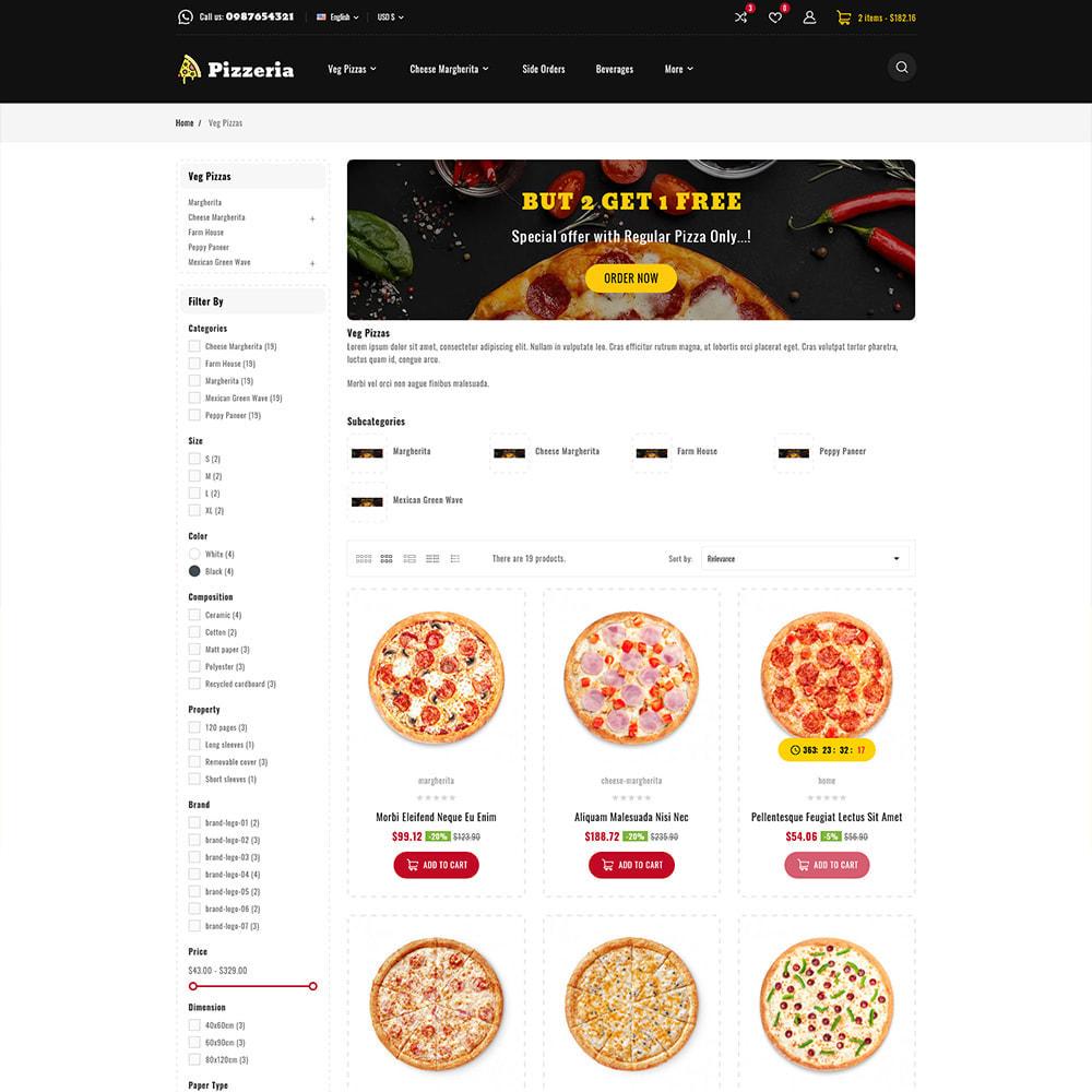 theme - Cibo & Ristorazione - Pizzeria - Pizza Fast Food Restaurant - 4