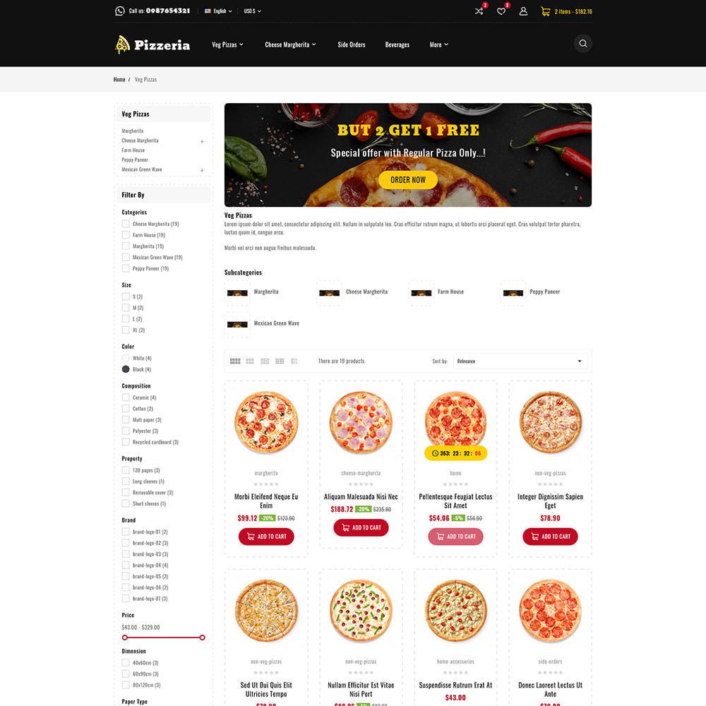 theme - Cibo & Ristorazione - Pizzeria - Pizza Fast Food Restaurant - 5