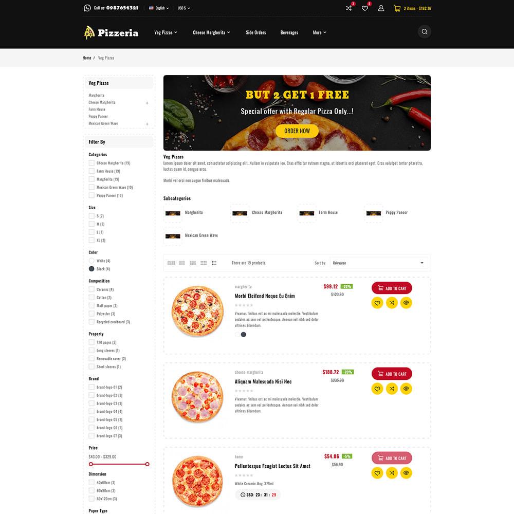 theme - Cibo & Ristorazione - Pizzeria - Pizza Fast Food Restaurant - 8